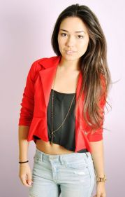 Dipped Hem Peplum Party BlazerJacket